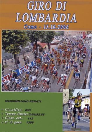 2006 al 'Lombardia' con classifica e tempo