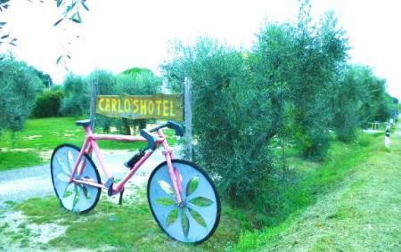 Castagneto Carducci (Li): la bici di Carlo