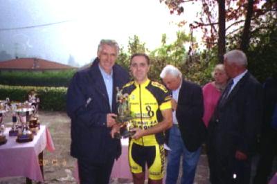 Michele col Moser al Ghisallo